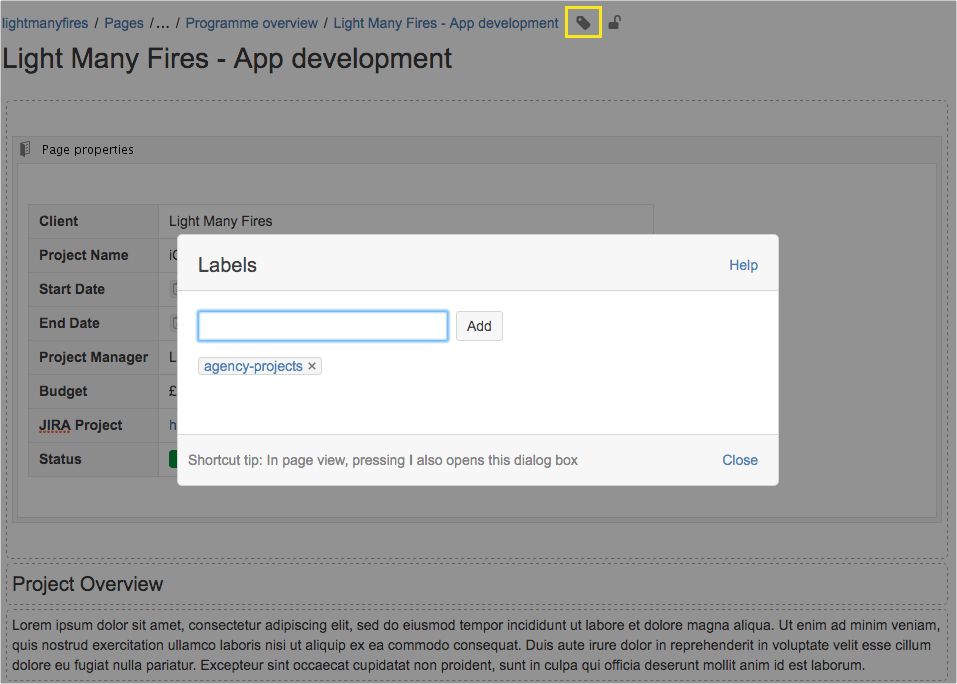 project-page-add-label-light-many-fires