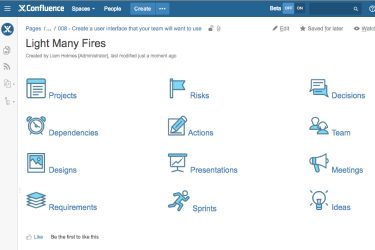 light-many-fires-confluence-user-interface-feature