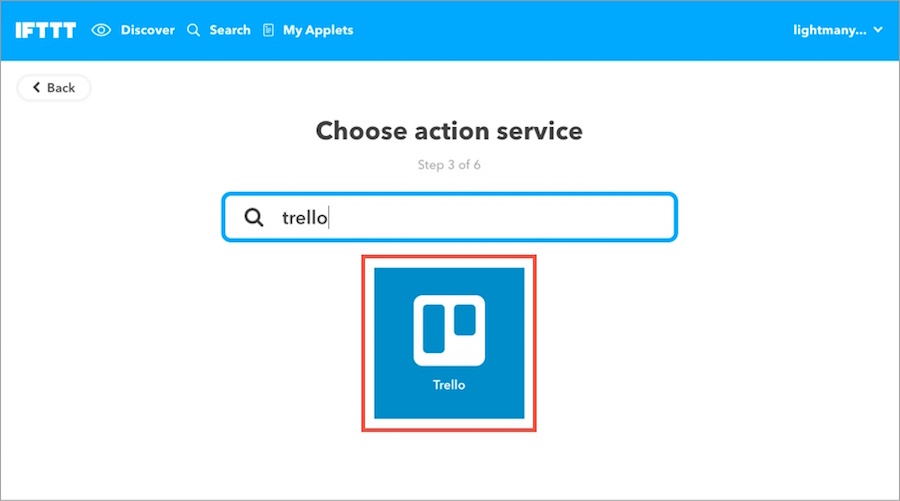 light-many-fires-amazon-echo-connect-trello-set-up-action-select-trello